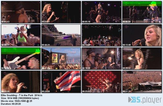 Ellie Goulding - T In The Park (2014) HDTV