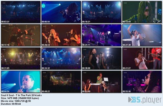 Soul II Soul - T In The Park (2014) HD 720p