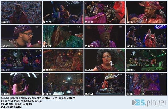 Sun Ra Centennial Dream Arkestra - Estival Jazz Lugano (2014) HDTV