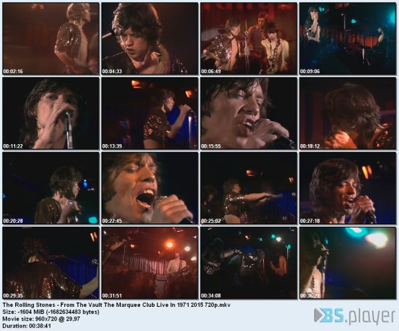 The Rolling Stones - From The Vault The Marquee Club 1971