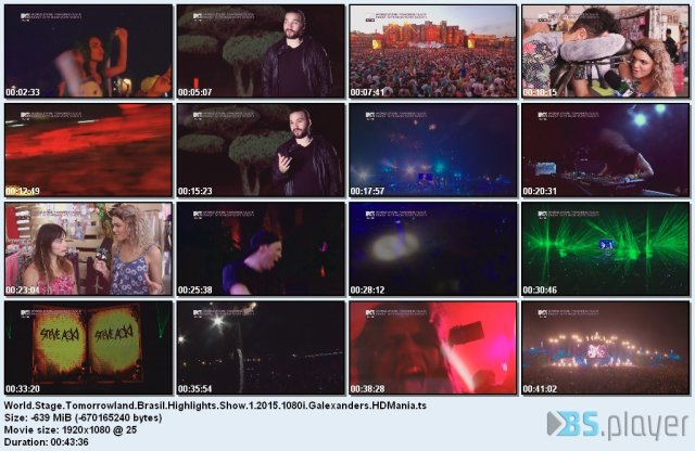 World Stage: Tomorrowland Brasil Highlights Show 1