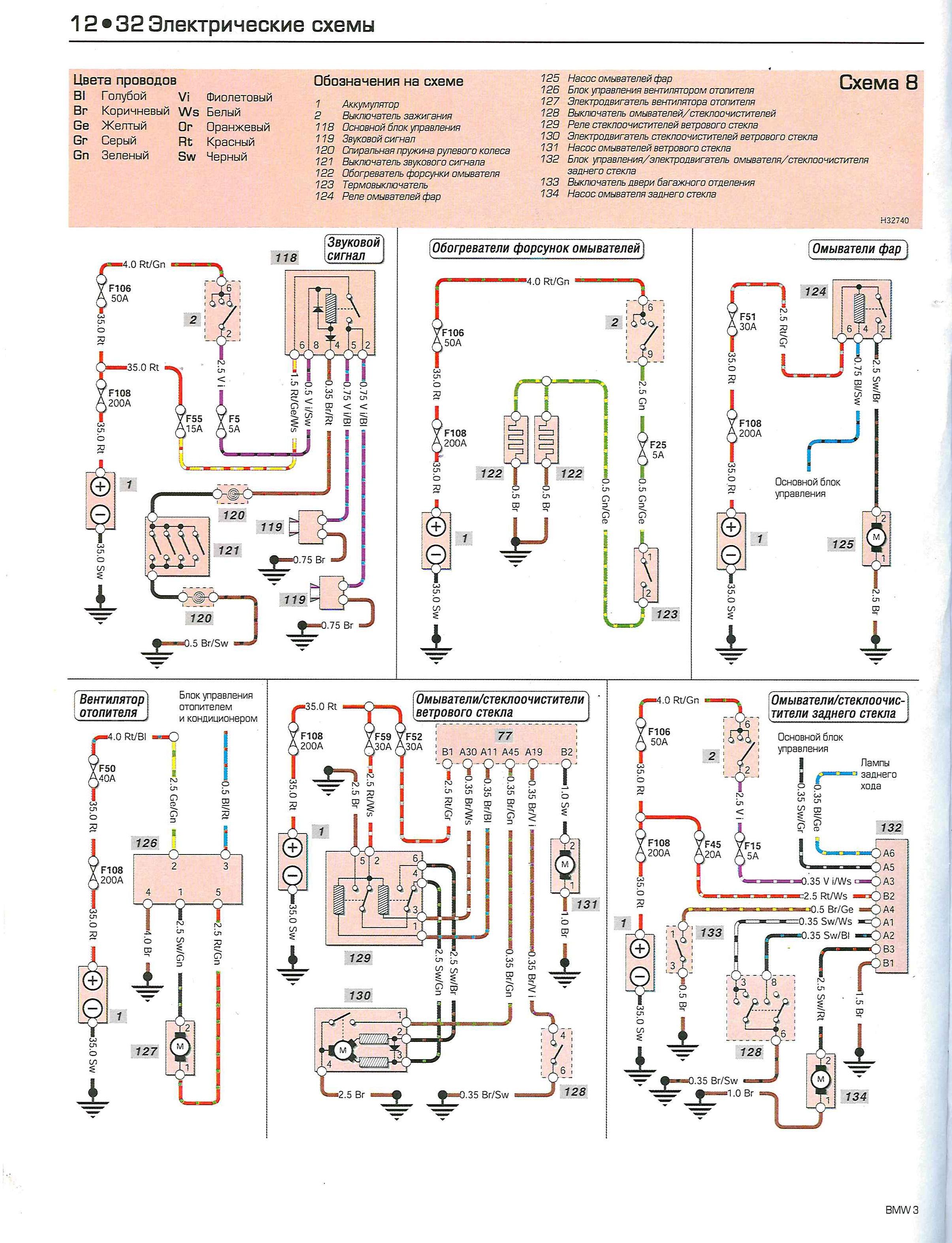 Схема топливной системы на бмв е39 дизель