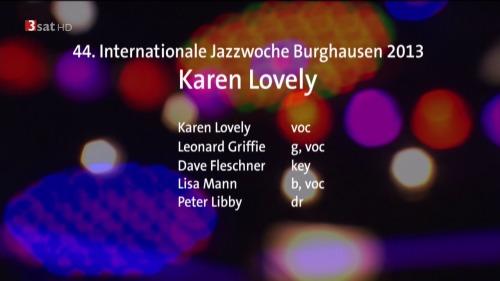 Karen Lovely - Jazzwoche Burghausen