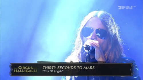 Thirty Seconds To Mars - City Of Angels (Circus Halligalli Live)