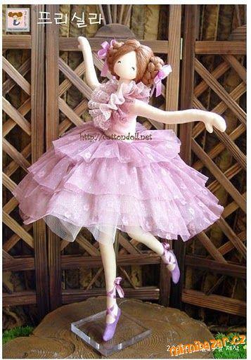 Сшить куклу балерину своими руками