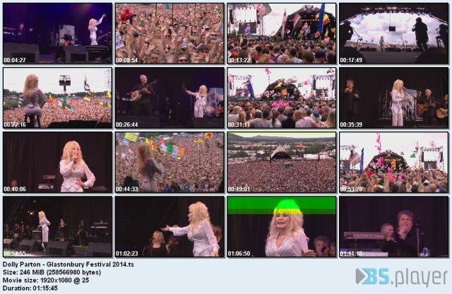Dolly Parton - Glastonbury Festival (2014) HDTV