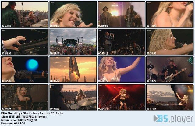 Ellie Goulding - Glastonbury Festival (2014) HD 720p