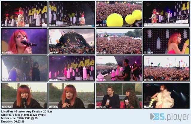 Lily Allen - Glastonbury Festival (2014) HDTV