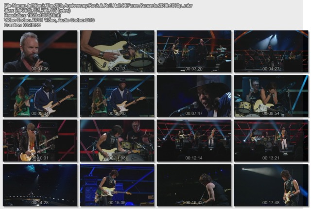 Jeff Beck - The 25th Anniversary Rock & Roll Hall Of Fame Concerts