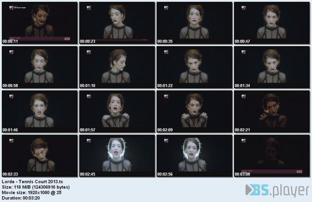 Lorde - Tennis Court (2013) HDTV