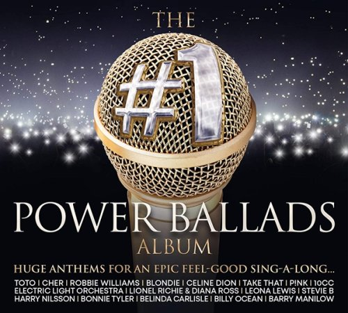 VA - The #1 Power Ballads Album [3CD] (2020)