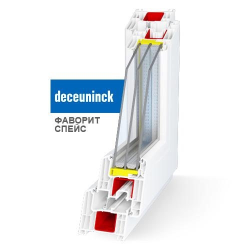 Окна Deceuninck Favorit Space – одни из лучших на рынке России