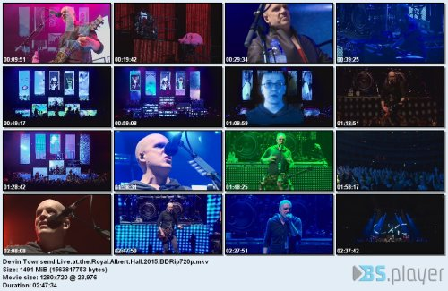 devintownsendliveattheroyalalberthall2015 - Devin Townsend Presents: Ziltoid - Live Royal Albert Hall (2015) [BDRip 720p]