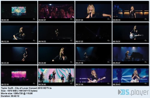 Taylor Swift - City of Lover Concert (2019) HDTV