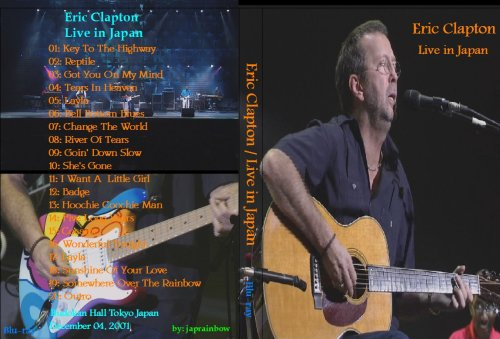 Eric Clapton - Live At Budokan Japan (2001) HDTVRip 720p