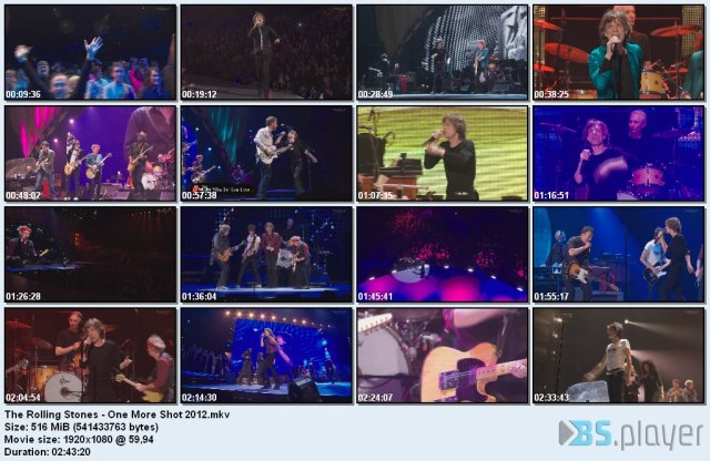 The Rolling Stones - One More Shot (2012) HDTV
