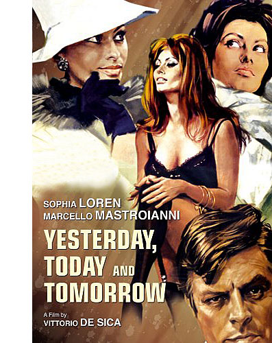 Вчера, сегодня, завтра / Ieri, oggi, domani / Yesterday, Today and Tomorrow  (1963) BDRip-AVC | MVO