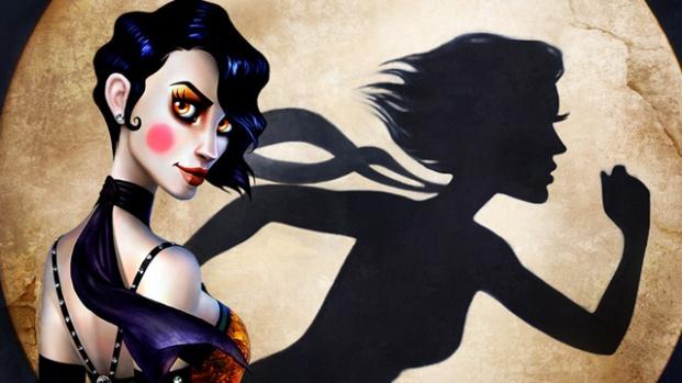 Постер игры Contrast, изображена главная героиня