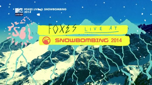 Foxes - Live @ Snowbombing (2014) HDTV