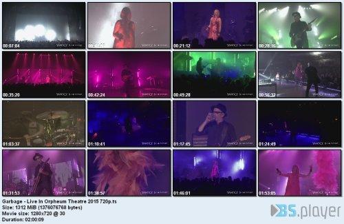Garbage - Live In Orpheum Theatre