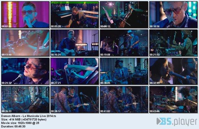 Damon Albarn - La Musicale Live (2014) HDTV