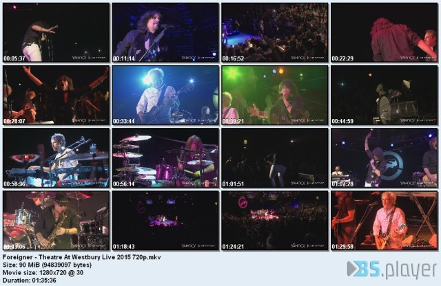 Foreigner - Theatre At Westbury Live (2015) HD 720p