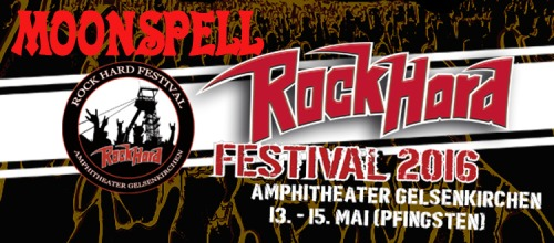 Moonspell - Rock Hard Festival (2016)