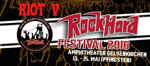 Riot V - Rock Hard Festival (2016)