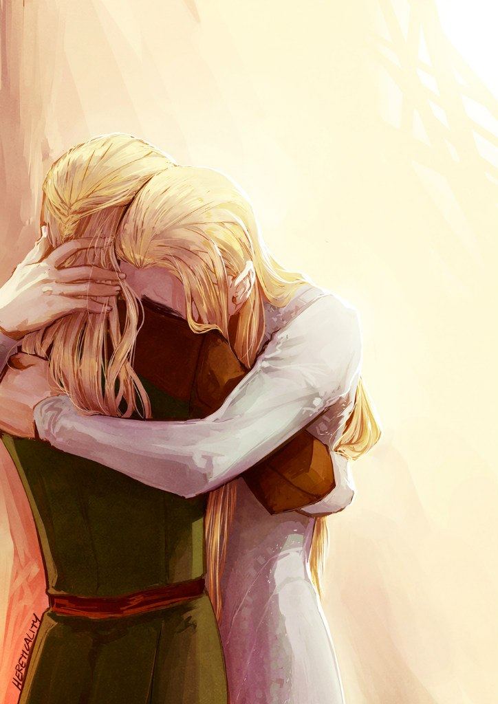 Трандуил и леголас слэш член поцелуй