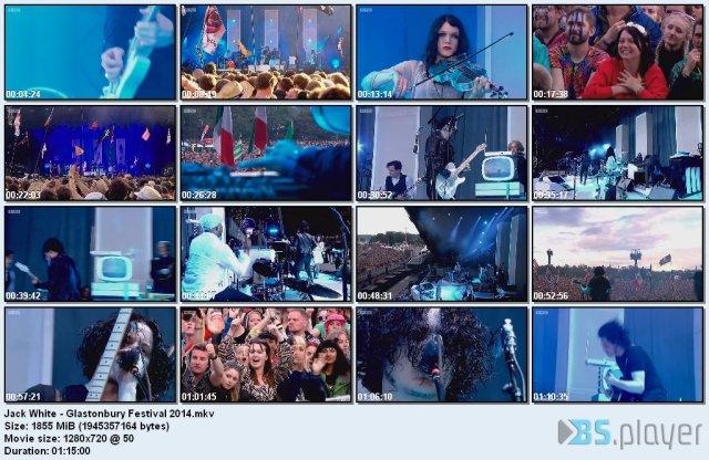 Jack White - Glastonbury Festival (2014) HD 720p