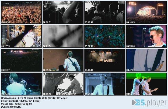 Bryan Adams - Live At Slane Castle