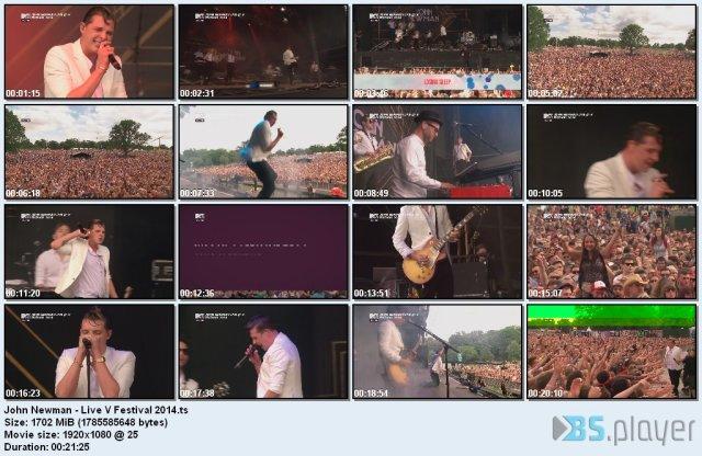 John Newman – Live V Festival (2014) HDTV 1080i