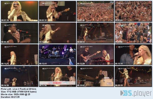 Pixie Lott - Live V Festival (2014) HDTV