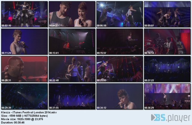 Kiesza - iTunes Festival London (2014) HD 1080p
