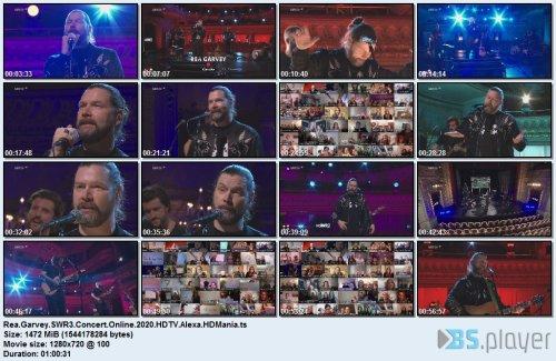 Rea Garvey - SWR3 Concert Online (2020) HDTV
