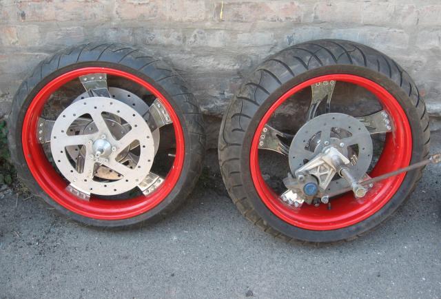 Как сделать задние колеса шире 294