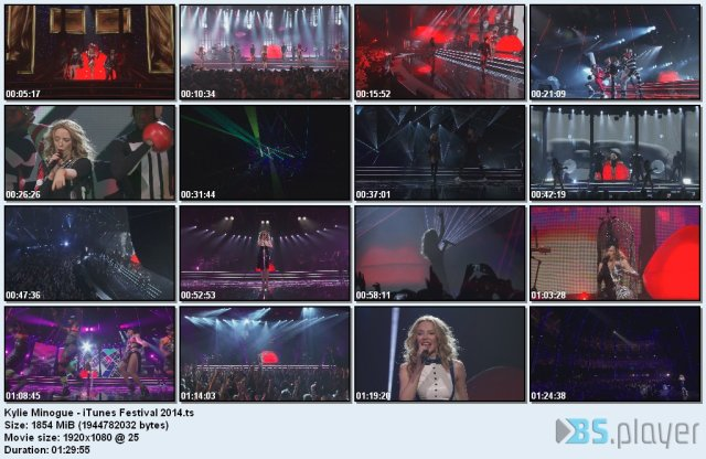 Kylie Minogue - iTunes Festival (2014) HD 1080p