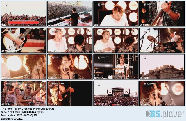 The 1975 - MTV Crashes Plymouth (2014) HDTV