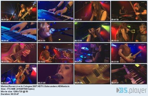 Marion Raven - Live In Cologne 2007 (2018)