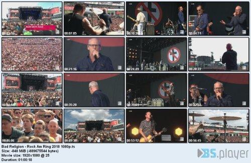Bad Religion - Rock Am Ring (2018) HD 1080p
