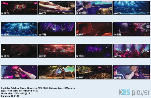 Coldplay - Telekom Street Gigs Live