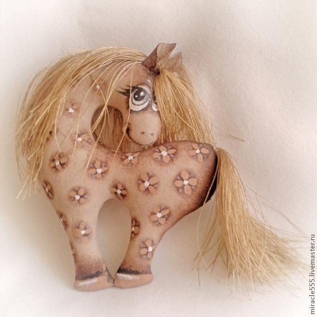 Игрушка лошадь своими руками