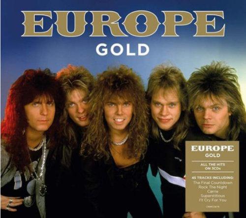 Europe - Gold (2021) Compilation, 3 CD Set