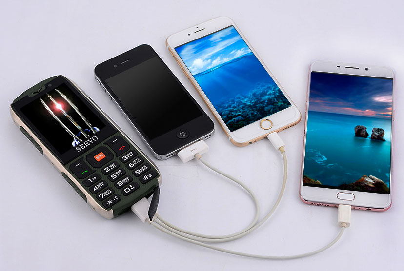 Servo H8  телефон