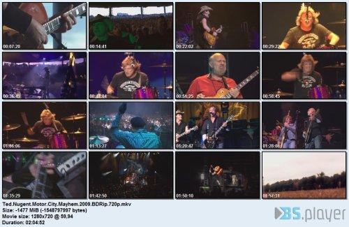 tednugentmotorcitymayhem2009bdrip - Ted Nugent - Motor City Mayhem (2009) BDRip 720p
