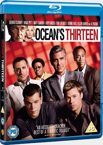 Друзья Оушена: Трилогия / Ocean's Trilogy (2001-2007) BDRip 720p