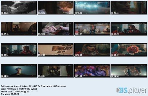 Ed Sheeran - Special Videos (2018)