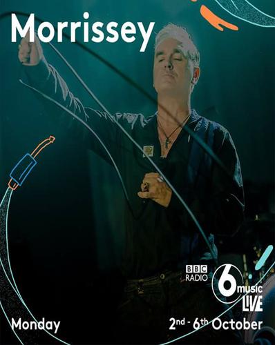 Morrissey - BBC Radio 6 Music Live (2017)