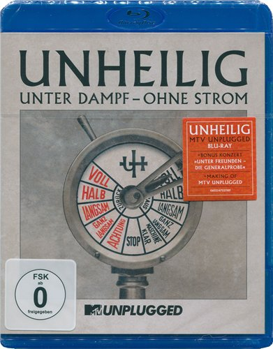 Cover Album of Unheilig - Unter Dampf - Ohne Strom (MTV Unplugged)
