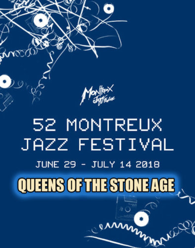 Queens Of The Stone Age - Montreux Jazz Festival (2018)